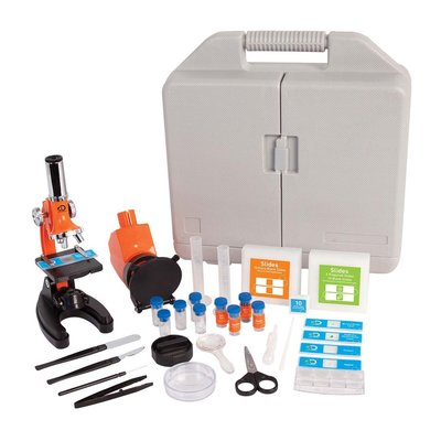 DISCOVERY KIDS 1200X BIOLOGICAL MICROSCOPE SET
