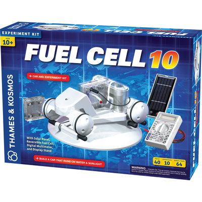 THAMES & KOSMOS FUEL CELL 10 CAR AND EXPERIMENT KIT