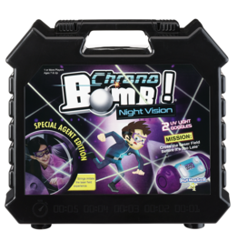 PLAYMONSTER CHRONO BOMB NIGHT VISION SPECIAL AGENT ED