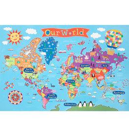 KIDS WORLD WALL MAP