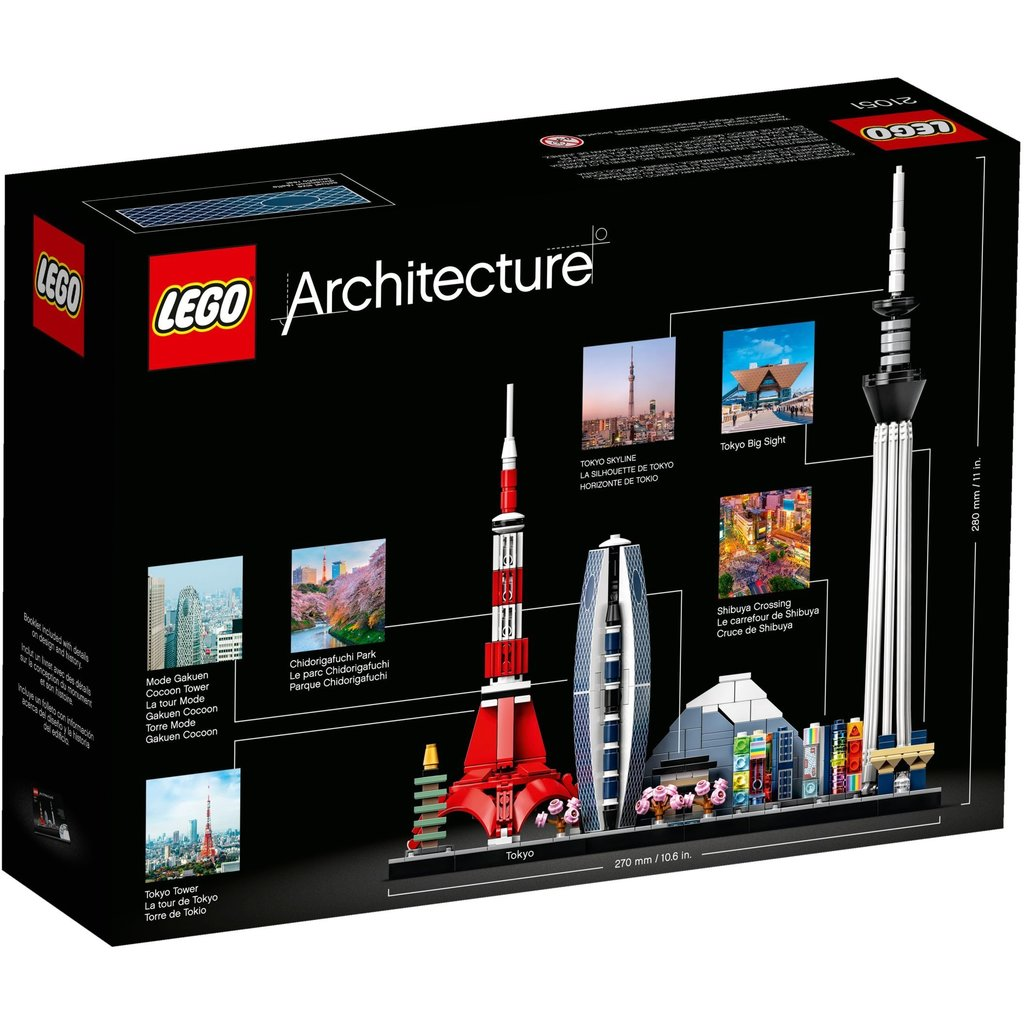 LEGO TOKYO ARCHITECTURE