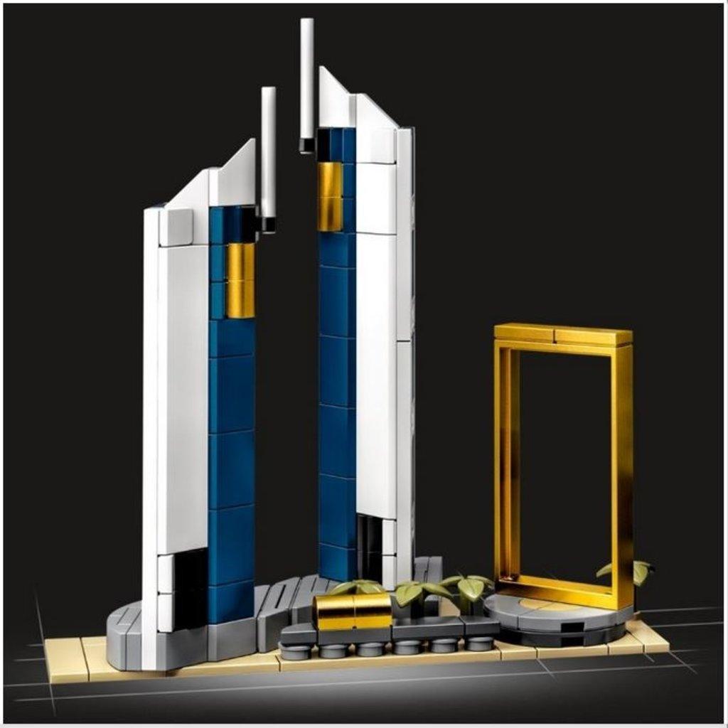 LEGO DUBAI ARCHITECTURE