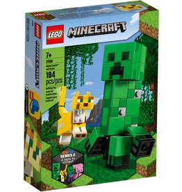 LEGO BIGFIG CREEPER AND OCELOT