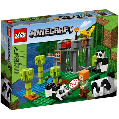 LEGO THE PANDA NURSERY MINECRAFT