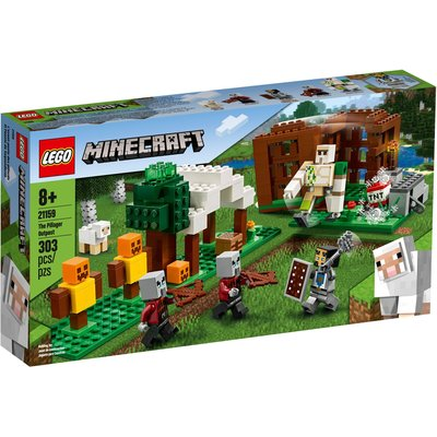 LEGO THE PILLAGER OUTPOST MINECRAFT