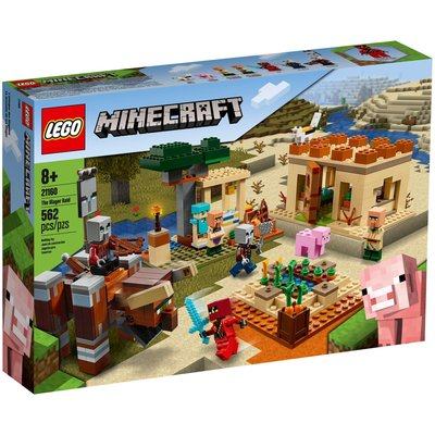 LEGO THE ILLAGER RAID MINECRAFT