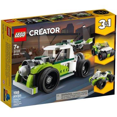 LEGO ROCKET TRUCK CREATOR