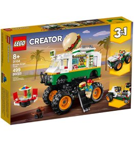 LEGO MONSTER BURGER TRUCK CREATOR