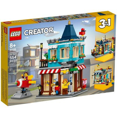 LEGO TOWNHOUSE TOY STORE CREATOR