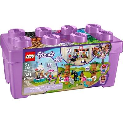 LEGO HEARTLAKE CITY BRICK BOX