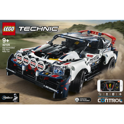 LEGO APP-CONTROLLED TOP GEAR RALLY CAR