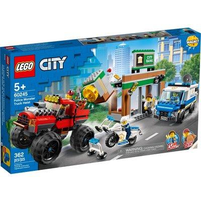 LEGO POLICE MONSTER TRUCK HEIST