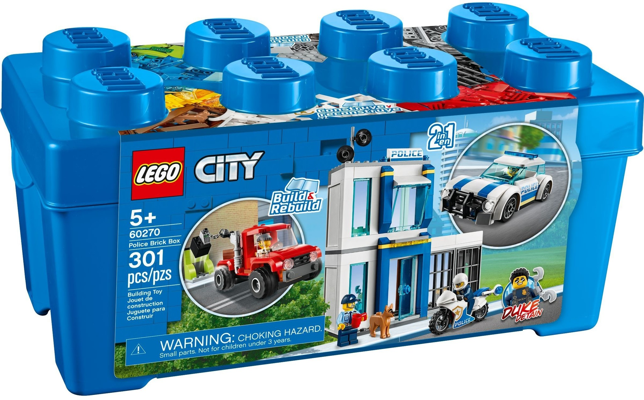Police Brick Box The Toy Store