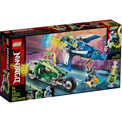 LEGO JAY & LLOYD'S VELOCITY RACERS