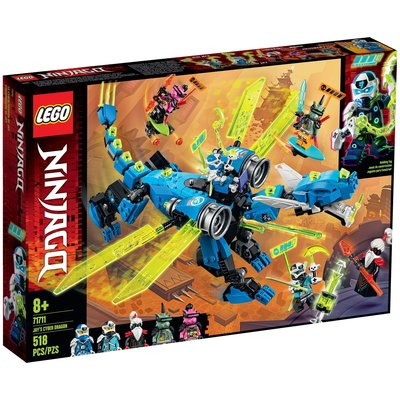 LEGO JAY'S CYBER DRAGON