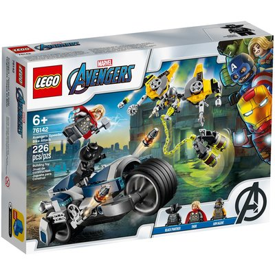 LEGO AVENGER'S SPEEDER BIKE ATTACK