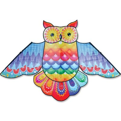 PREMIER KITE RAINBOW OWL KITE