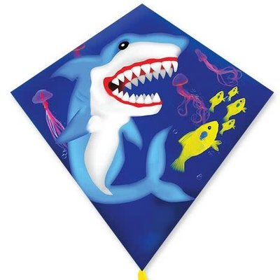 "PREMIER KITE SHARK 25"" DIAMOND KITE"