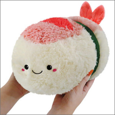 SQUISHABLE MINI SHRIMP SUSHI SQUISHABLE