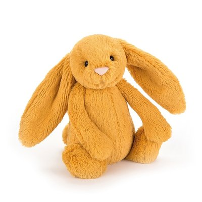JELLY CAT MEDIUM BASHFUL BUNNY SAFFRON
