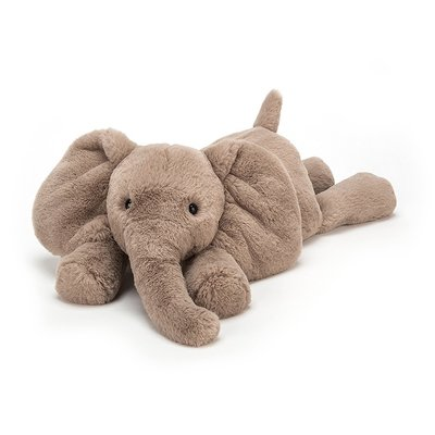 JELLY CAT SMUDGE ELEPHANT LARGE