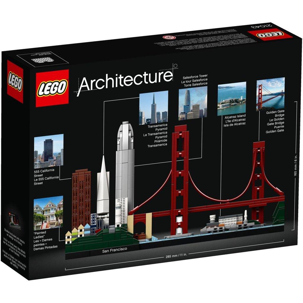 LEGO SAN FRANCISCO ARCHITECTURE