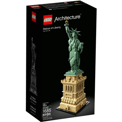 LEGO STATUE OF LIBERTY ARCHITECTURE