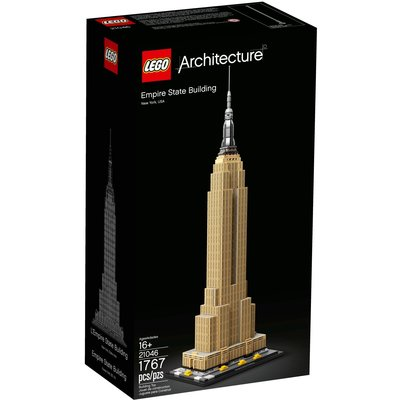 LEGO EMPIRE STATE BUILDING ARCHITECTURE