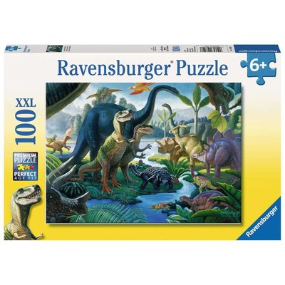 RAVENSBURGER USA LAND OF THE GIANTS 100 PC PUZZLE