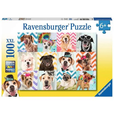 RAVENSBURGER USA DOGGY DISGUISE 100 PIECE