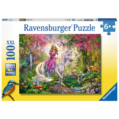 RAVENSBURGER USA MAGICAL RIDE 100 PC PUZZLE