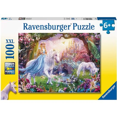 RAVENSBURGER USA UNICORN MAGIC 100 PC PUZZLE
