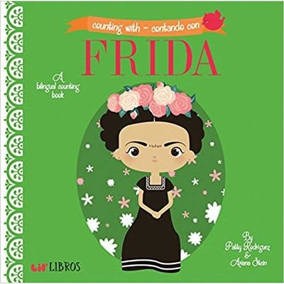GIBBS SMITH COUNTING WITH – CONTANDO CON FRIDA: A BILINGUAL COUNTING BOOK
