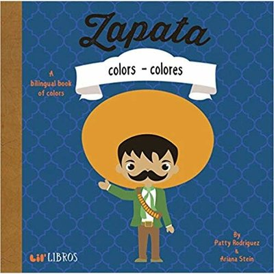 GIBBS SMITH ZAPATA: COLORS BB RODRIGUEZ