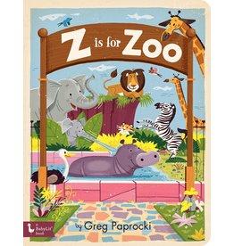 GIBBS SMITH Z IS FOR ZOO BB PAPROCKI