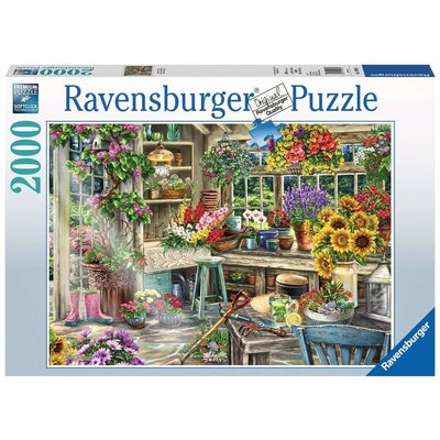 RAVENSBURGER USA GARDENER'S PARADISE 2000 PC PUZZLE