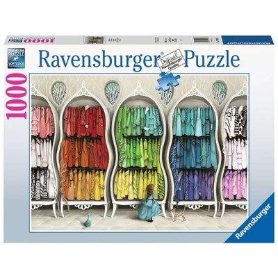 RAVENSBURGER USA FANTASTIC FASHIONISTA 1000 PC PUZZLE