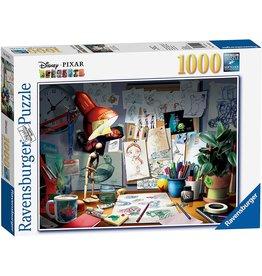 RAVENSBURGER USA ARTIST'S DESK 1000 PIECE
