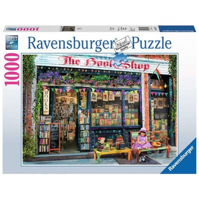 RAVENSBURGER USA BOOKSHOP 1000 PC PUZZLE