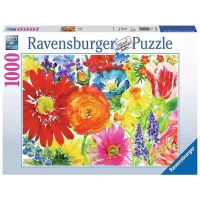 RAVENSBURGER USA ABUNDANT BLOOMS 1000 PC PUZZLE