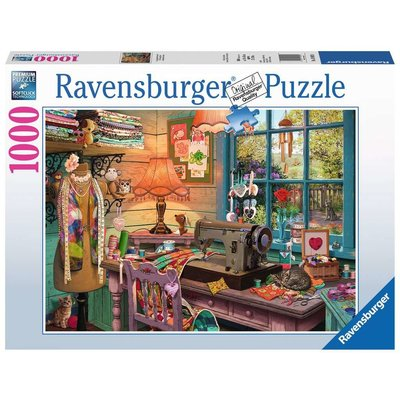 RAVENSBURGER USA THE SEWING SHED 1000 PC PUZZLE