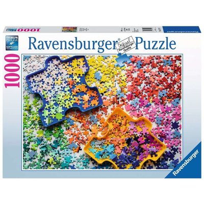 RAVENSBURGER USA THE PUZZLERS PALETTE 1000 PIECE