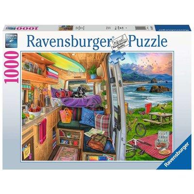 RAVENSBURGER USA RIG VIEWS 1000 PC PUZZLE