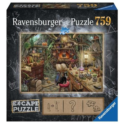 RAVENSBURGER USA WITCH'S KITCHEN ESCAPE 759 PC PUZZLE