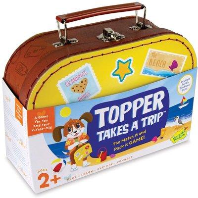 PEACABLE KINGDOM TOPPER TAKES A TRIP GAME