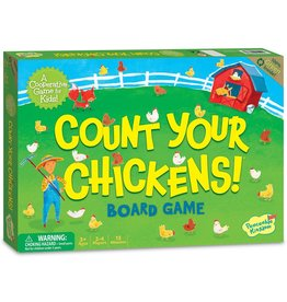PEACEABLE KINGDOM COUNT YOUR CHICKENS CO-OP GAME