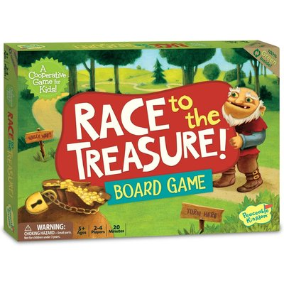 PEACEABLE KINGDOM RACE TO THE TREASURE CO-OP GAME