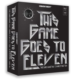 CEACO/ BRAINWRIGHT/ GAMEWRIGHT THIS GAME GOES TO ELEVEN