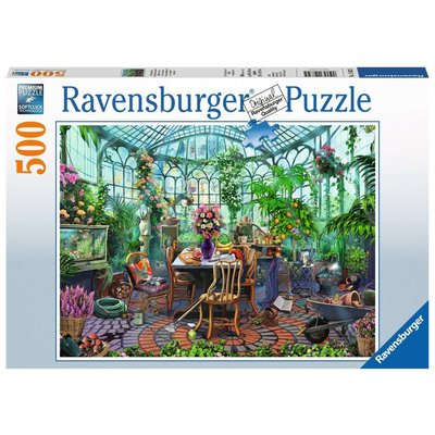 RAVENSBURGER USA GREENHOUSE MORNING 500 PC PUZZLE