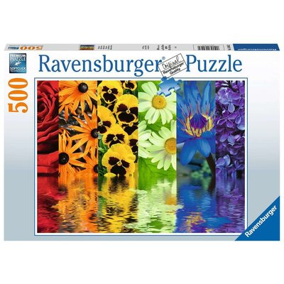 RAVENSBURGER USA FLORAL REFLECTIONS 500 PC PUZZLE